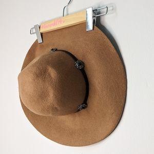 American Eagle wool western floppy hat